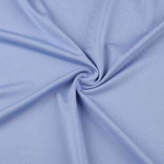 Микролайкра голубая васильковая ш.162