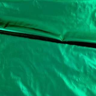 Лаке металлик не стрейчевое зеленое, ш.150