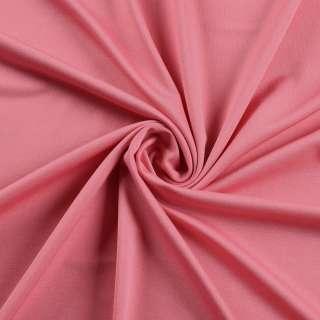 Лайкра тонка рожева чайна троянда яскрава, ш.165