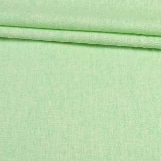 Льон котон зелений світлий, ш.150
