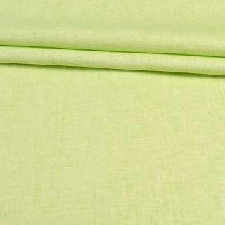 Льон котон салатовий, ш.133