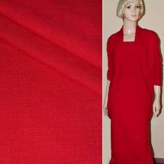 Льон-котон стрейч червоний ш.138