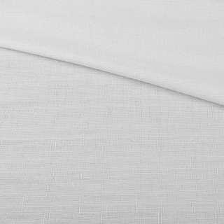 Льон костюмний з дрібними штрихами білий ш.145
