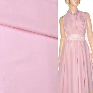 лен бледно-розовый однотонный ш.140