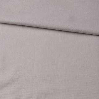 лен бежево-серый однотонный ш.150