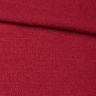 Лен красный однотонный, ш.145