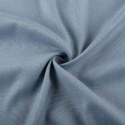 Льон стрейч з бавовною сіро-блакитний ш.145