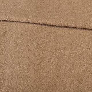Лоден букле бежевий на трикотажній основі ш.152