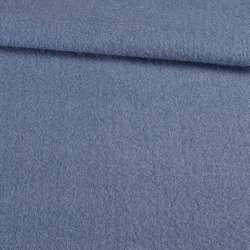 Лоден мохер голубой темный, ш.155