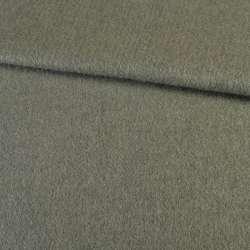 Лоден мохер серо-зеленый, ш.157