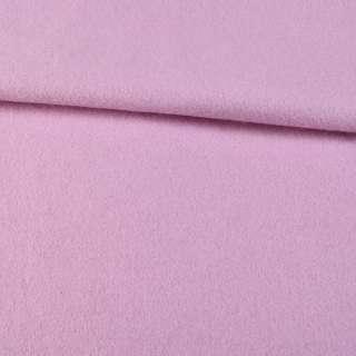 Лоден-мохер розово-сиреневый, ш.155