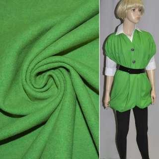 Лоден облегченный зеленый (весенний) ш.150