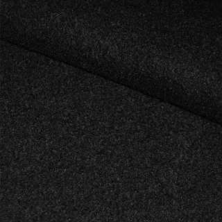 Лоден черный ш.150