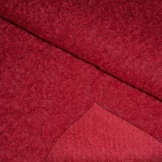 Лоден-букле красный ш.153