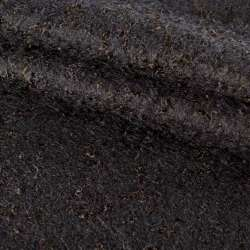 Лоден-букле черный ш.150