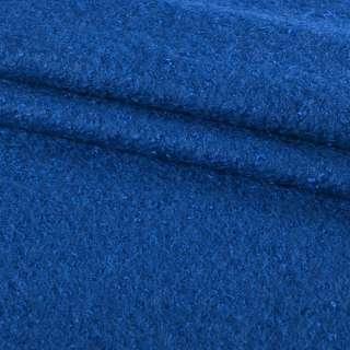 Лоден-букле синій-ультра ш.150