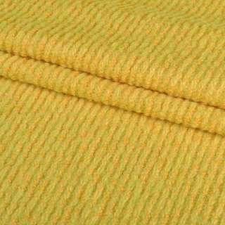 "Лоден-букле ""діагональ"" жовтий ш.150"