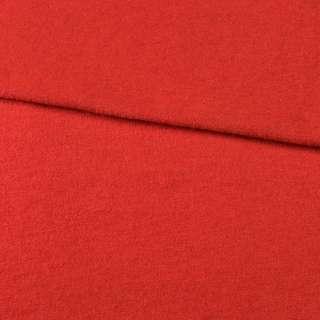 Лоден вовняний костюмний червоний, ш.150
