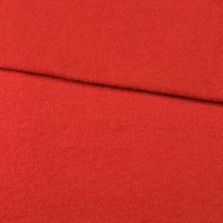 Лоден шерстяной костюмный алый, ш.150