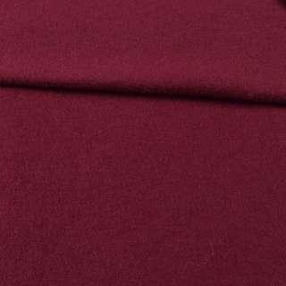 Лоден шерстяной костюмный бордовый, ш.155