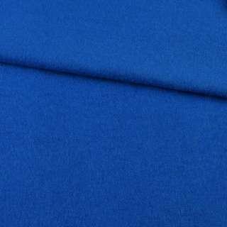 Лоден шерстяной костюмный синий ультрамарин, ш.155