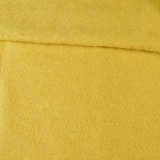 Лоден мохеровий пальтовий жовтий, ш.160