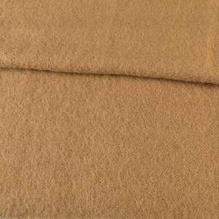 Лоден мохеровый пальтовый бежевый, ш.160