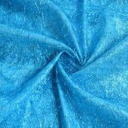 Травка блакитна з блакитними люрексовими нитками, ш.135