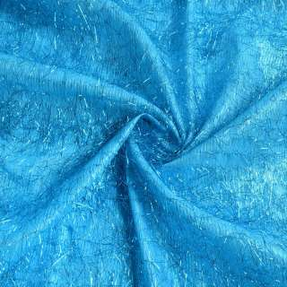 травичка блакитна з блакитними люрексовой нитками, ш.135