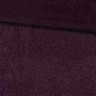 Альпака шерстяная баклажан, ш.150