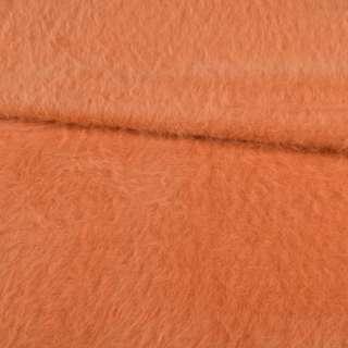 Ангора длинноворсная терракотово-оранжевая ш.150