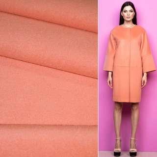 Тканина пальтова 2-х сторін. св / коралова ш.150 см.