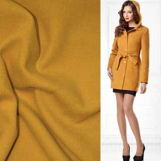 Тканина пальтова 2-ст. жовта ш.150