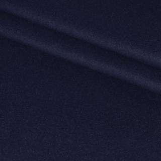 Ткань пальтовая 2-х стор. сине-черная ш.150