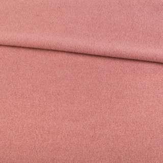 Кашемір пальтовий рожевий з бежевим відтінком, ш.150
