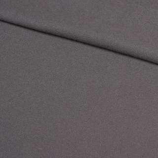 Креп щільний костюмний сірий, ш.150