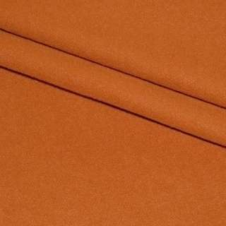 тк. пальтовая оранжево-рыжая на трикот. осн. ш.160