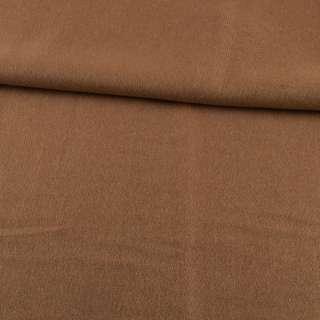 Кашемир пальтовый бежевый темный ш.150