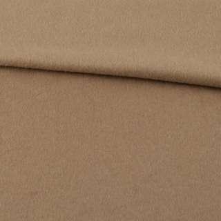 Кашемир пальтовый бежевый ш.155