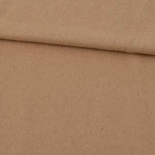 Кашемир пальтовый бежевый светлый ш.152