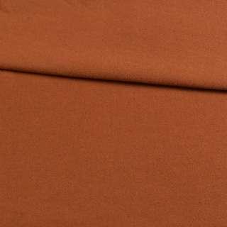 Трикотаж пальтовый коричневый, ш.153