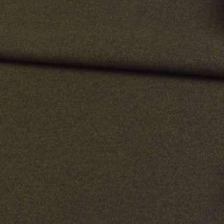 трикотаж пальтовий оливковий темний, ш.150