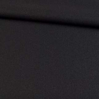 трикотаж пальтовий чорний, ш.155
