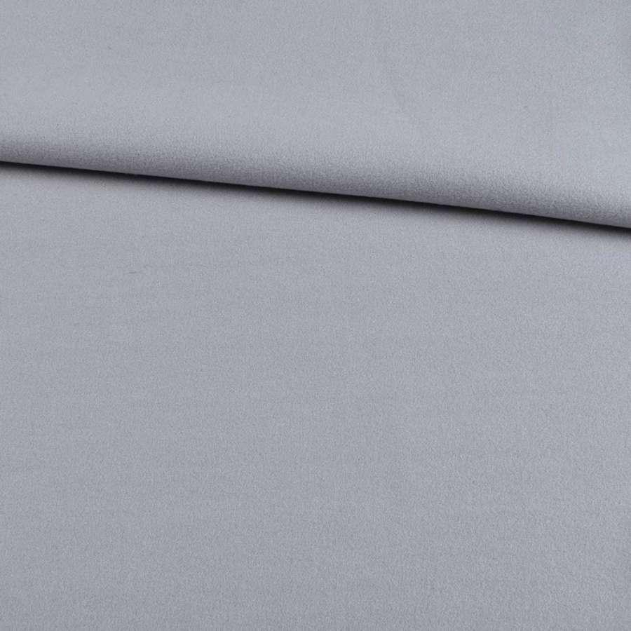 Трикотаж пальтовий сірий, ш.155