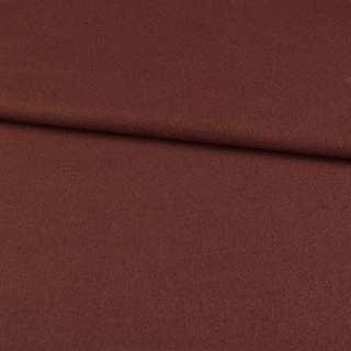 трикотаж пальтовий коричневий з бордовим відтінком, ш.155