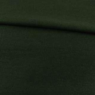 Лоден пальтовый зеленый темный, ш.155