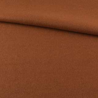 Лоден пальтовый коричневый светлый, ш.155