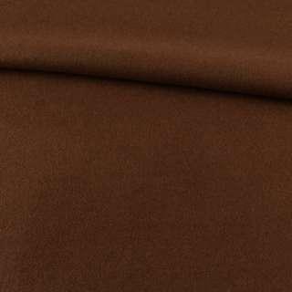 Лоден пальтовый коричневый (оттенок темнее), ш.155