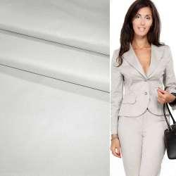 Поливискоза костюмная стрейч серая светлая ш.150