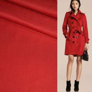 Полівіскоза костюмна стрейч червона ш.150